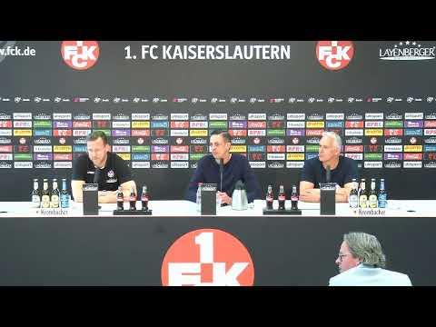Livestream: Pressekonferenz nach dem Heimspiel gegen den SV Meppen