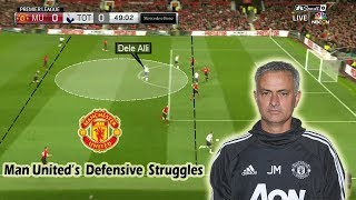 What is Going Wrong with Mourinho's Manchester United? Tactical Analysis