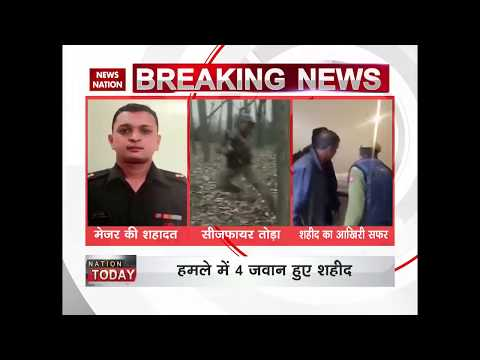 Jammu and Kashmir: Pak violates ceasefire along LoC; Army Major, 3 soldiers killed in firing