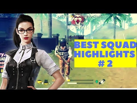 DOSA.yuanN - BEST SQUAD Rank 1 - Battle Royale Highlights # 2 ( Garena Free Fire )