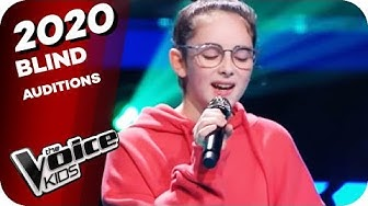 Joss Stone - Fell In Love With A Boy (Gianna) | The Voice Kids 2020 | Blind Auditions