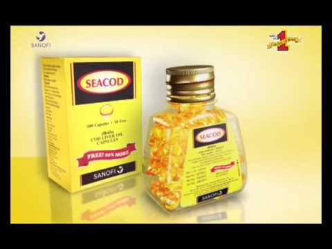 Seacod india 39 s no 1 cod liver oil brand youtube for Best fish oil supplement brand
