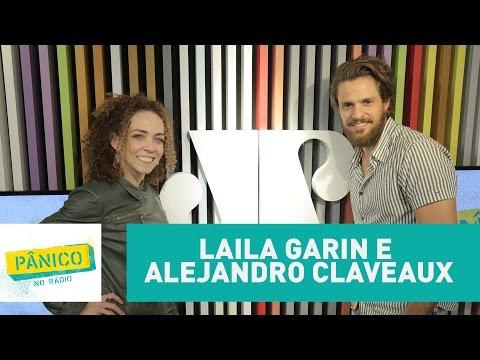 Laila Garin e Alejandro Claveaux - Pânico - 05/04/17