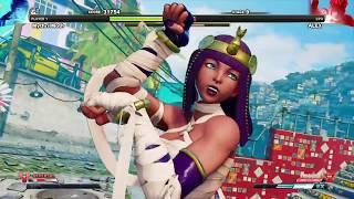 Street Fighter V: Moth Uses Menat For The 1st Time