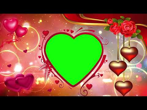 Free Wedding Frame Green Screen Background Effect HD,Green Screen background Animated video HD thumbnail