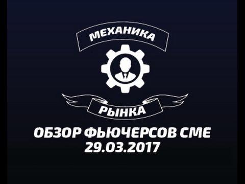 Обзор фьючерсов CME  29.03.2017 МЕХАНИКА РЫНКА.