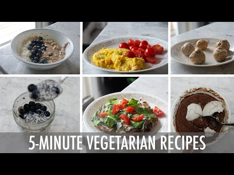 5 Vegetarian Recipes You Have To Try