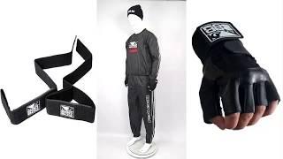 Костюм сауна Bad Boy Sweat Suit   Black