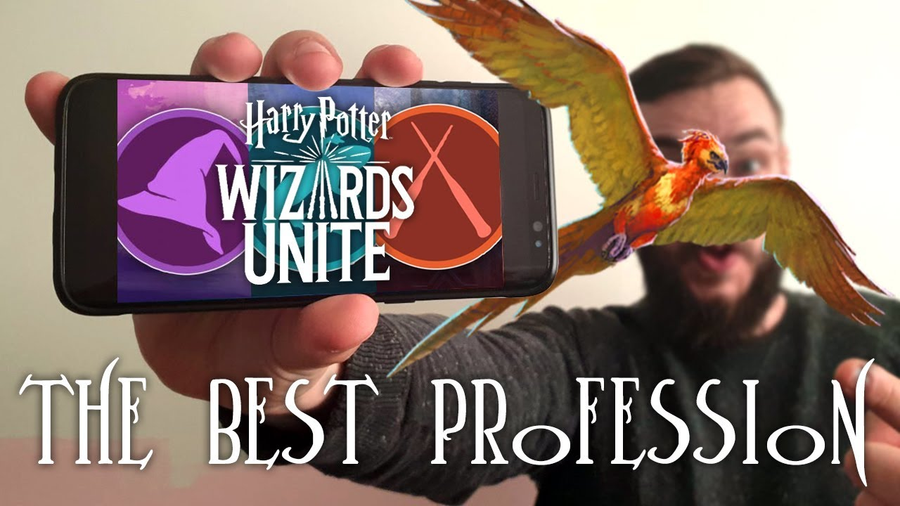 Ep  2 How to pick the BEST PROFESSION in Harry Potter: Wizards Unite