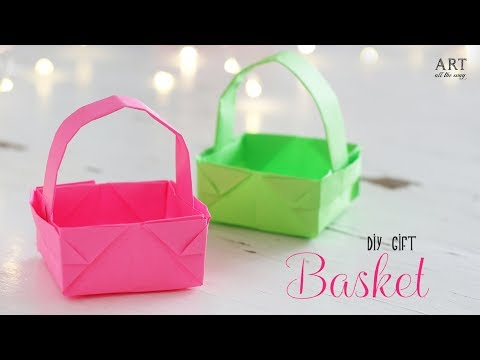 DIY Paper Basket : How to Make Easy Paper Basket for Gifts