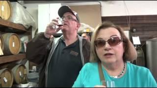 США 2669: Винодельня бутиковая в горах Санта Круз. Пино Нуар и ленточки.(, 2015-04-19T02:03:49.000Z)