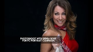Photoshoot with Debra Ross for FC Portrait Campaign.