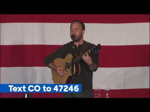 Dave Matthews - 10/10/16 - Denver, CO - Tim Kaine Rally