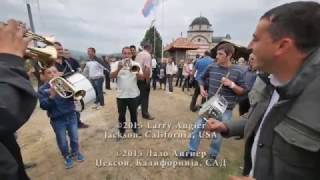 Consecration of St. Basil Church, Ribasevina, Serbia
