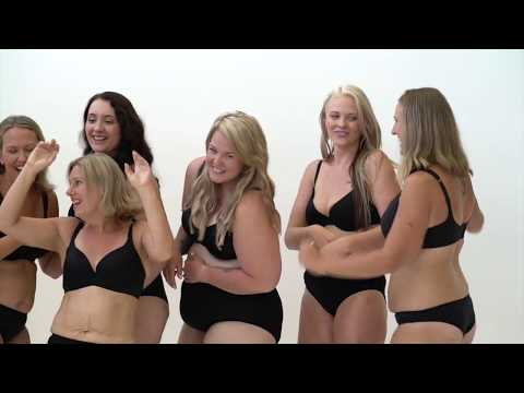 Behind the scenes at The BIG Healthy Mummy Underwear Shoot