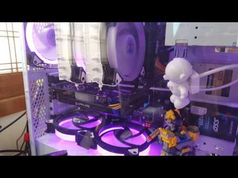 AIGO C3 / C5 RGB 팬 LED 모드