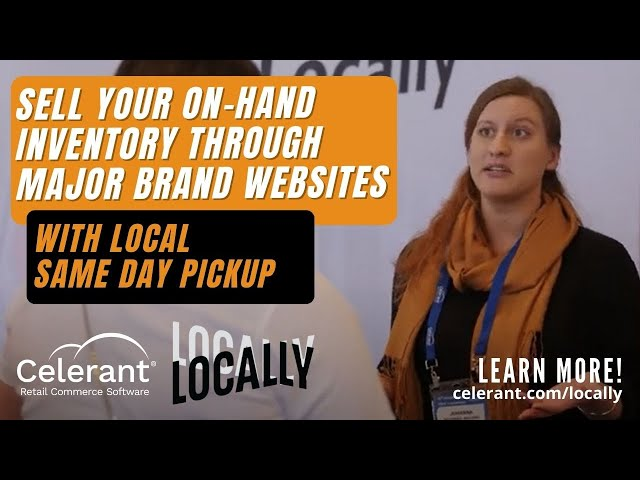 Sell Your Products on Major Brands' Websites w/ Local, In Store Pickup