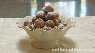 Творожные пончики - Рецепт Бабушки Эммы