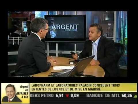 Entrevue et présentation de l'antivol SICA de Techniprex au Canal Argent - 14 octobre 2010