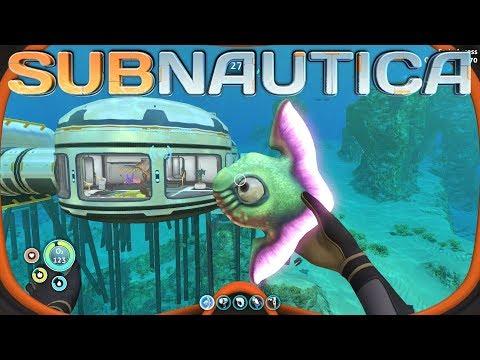 Subnautica - Building an AQUARIUM REC ROOM - Subnautica Gameplay - Episode 10