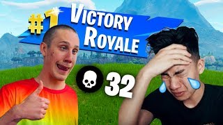 I CARRIED RICEGUM IN FORTNITE... thumbnail
