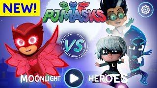 PJ Masks Games | Moonlight Heroes | Owlette NEW LEVELS ! | Game for Kids thumbnail