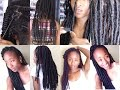 Pain free Light-Weight Faux Locs Tutorial (beginner friendly) | Aseamae Natural