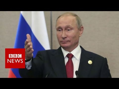 North Korea nuclear crisis: Putin calls sanctions useless - BBC News