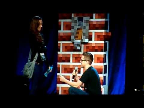 Minecon 2011 Closing Ceremony--Wedding Proposal