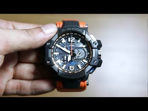 Casio Gravity Master GPW-1000-4A Unboxing