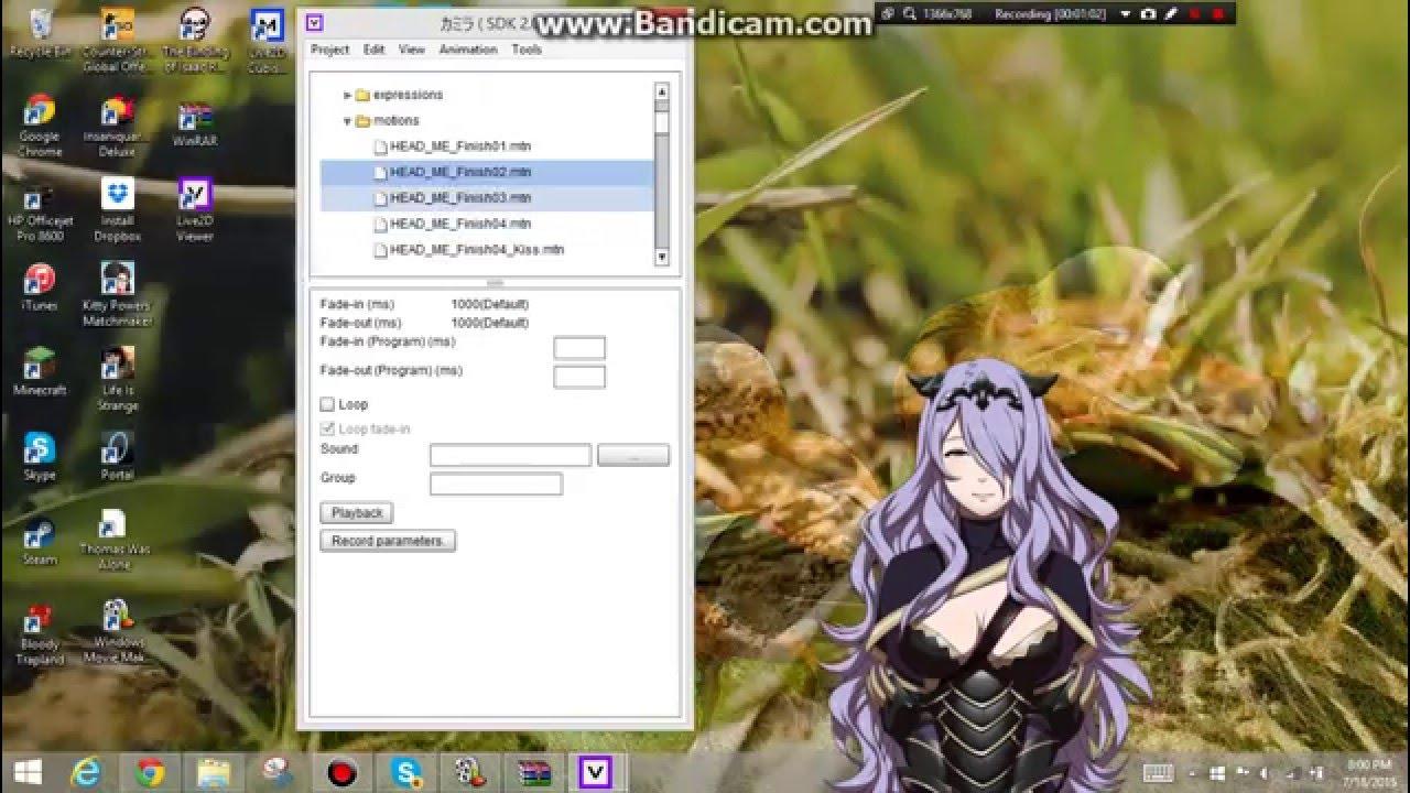 camilla desktop waifu youtube