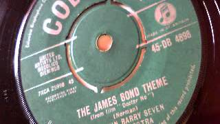 the james bond theme - the john barry seven & orchestra - columbia 1962