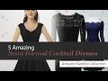 5 Amazing Semi Formal Cocktail Dresses Amazon Fashion Collection
