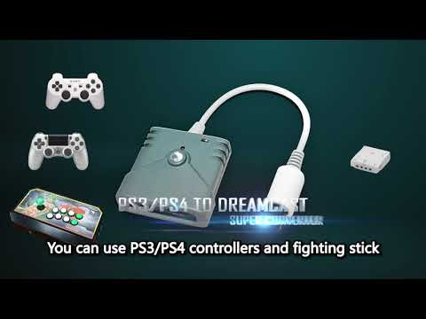[Brook Gaming] PS3/PS4 To DreamCast Super Converter Trailer