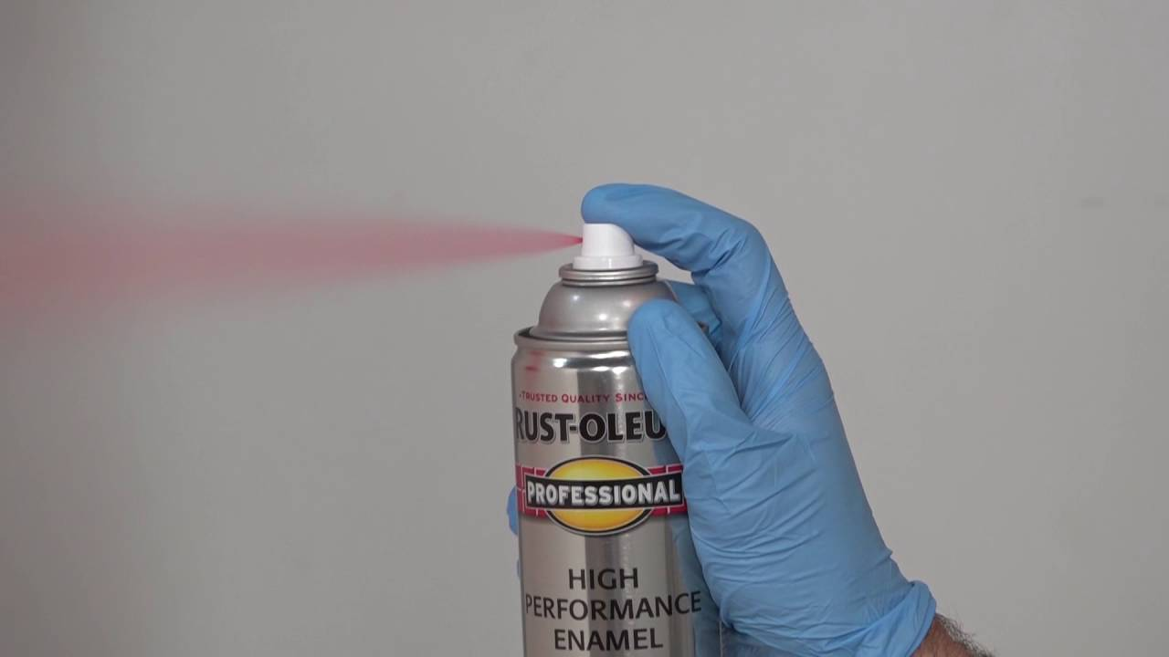 How to Apply Rust-Oleum High Performance Enamel Spray Paint