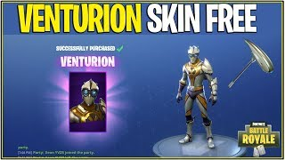 "*NEW* Fortnite: HOW TO GET THE ""VENTURION"" SKIN FREE! 
