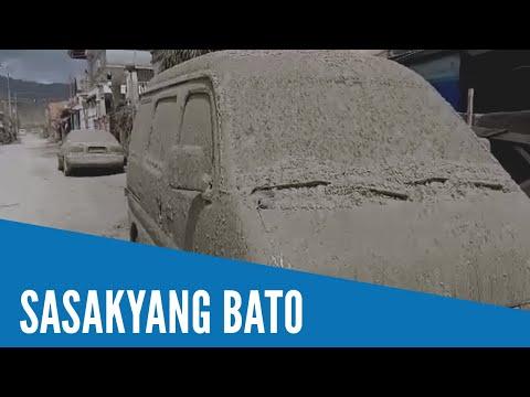 Maraming bagay sa Talisay, Batangas unti-unti nang nagiging bato dahil sa pagtigas ng abo