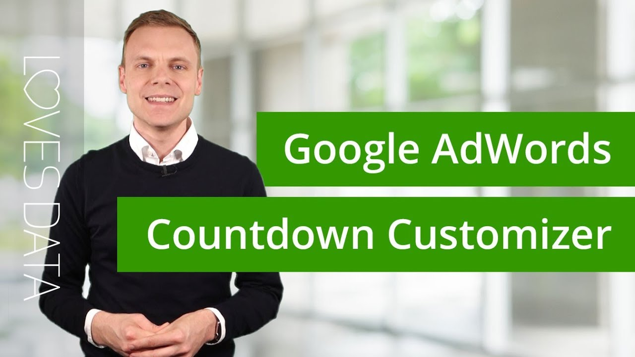 How to use Google AdWords Countdown Customizers