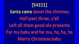 Otis Redding - Merry Christmas Baby (karaoke)
