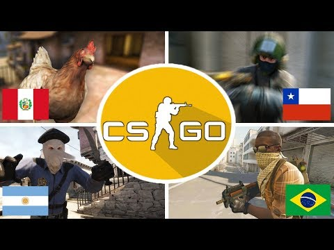 LATIN AMERICANS COUNTRIES IN CS;GO