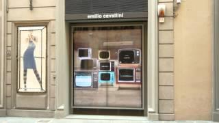 Видео-витрина во Флоренции