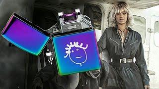 Unboxing Rihanna - Isqueiro de plasma Badgalriri (PURPLE FIRE)