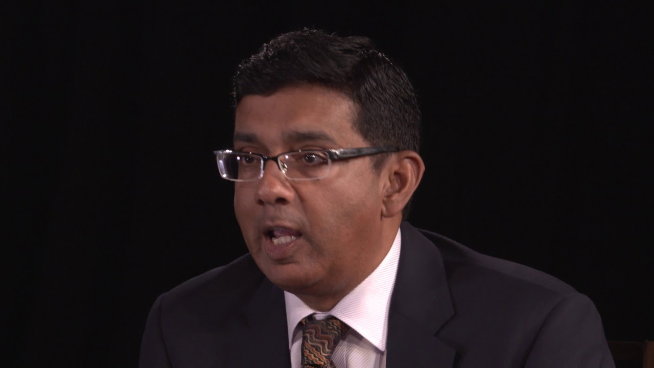 Dinesh D'Souza is featured on