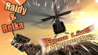 #135 Hurtworld v2 - Helikopterem na RAIDY! Best Live Moments :)