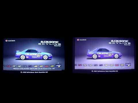 Playstation 2 480i vs 1080i