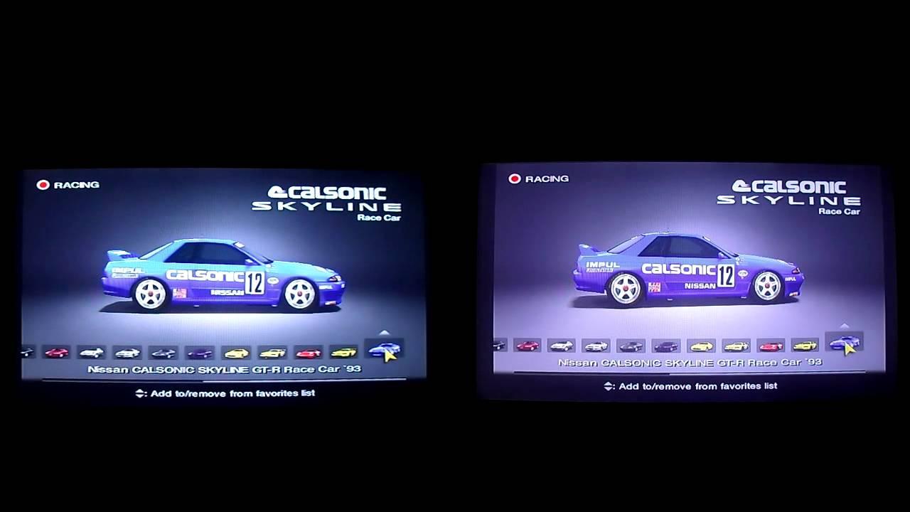 Playstation 2 480i Vs 1080i Youtube