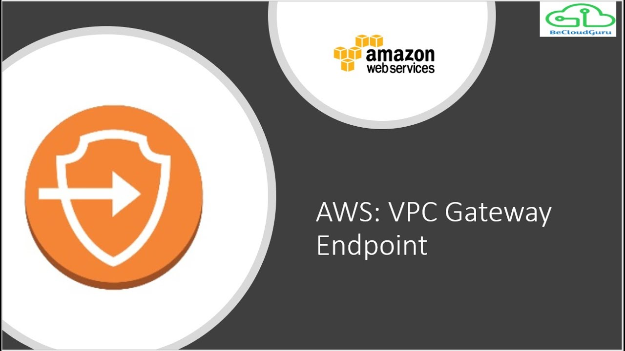 AWS Gateway Endpoint for S3 (2018), aws endpoints vpc,VPC Endpoints AWS,  AWS Gateway Endpoint Demo,