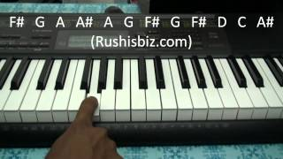 Iddarammayilatho Theme Piano Notes Tutorial