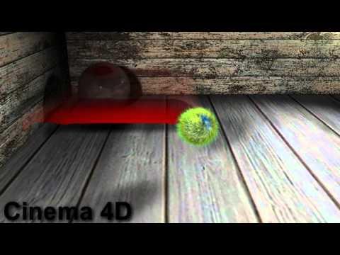 Cinema 4D - Cloth, Hair & Dynamic Balls - C1 Media