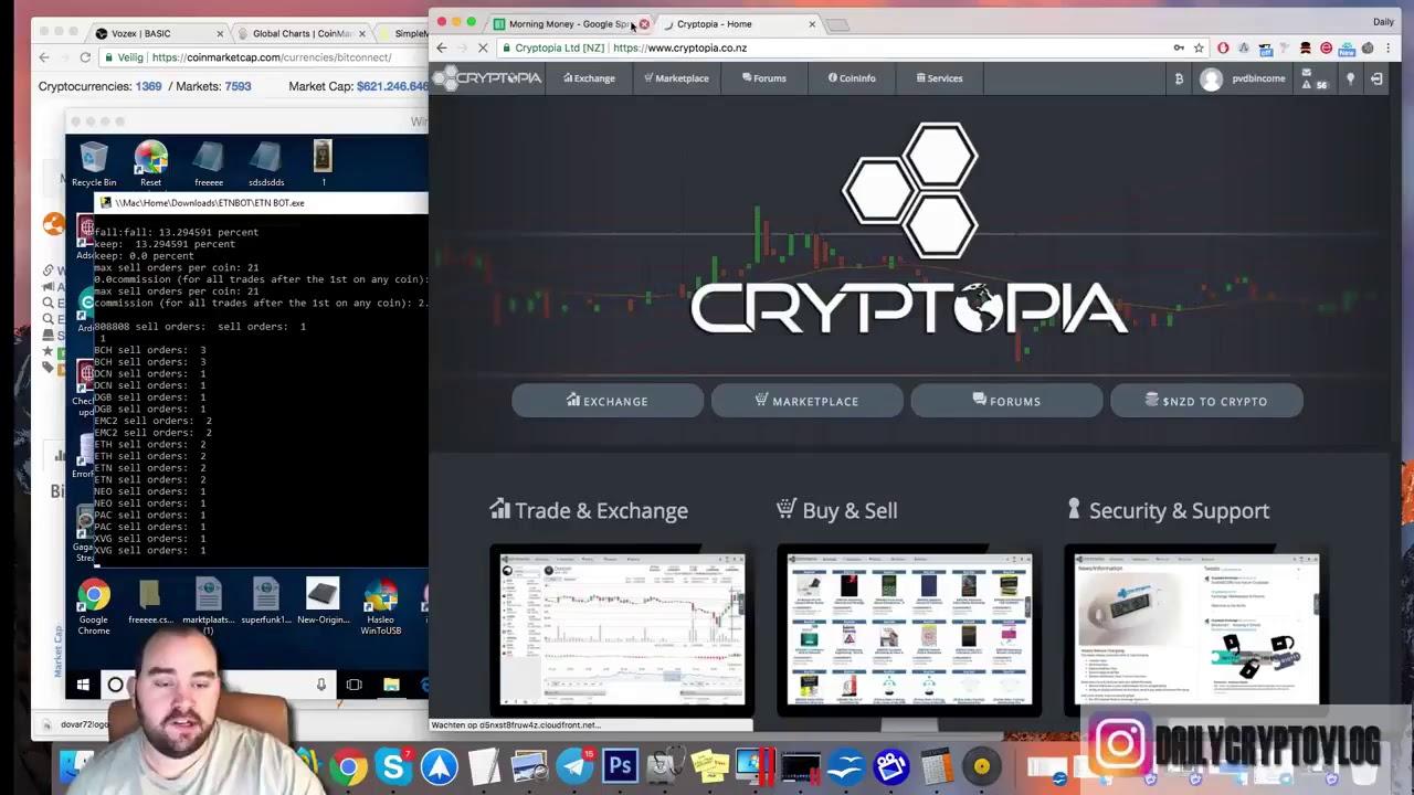 cryptopia crypto trading bot)